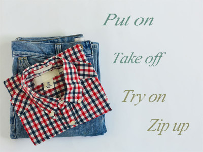 15 Phrasal verbs related to clothing