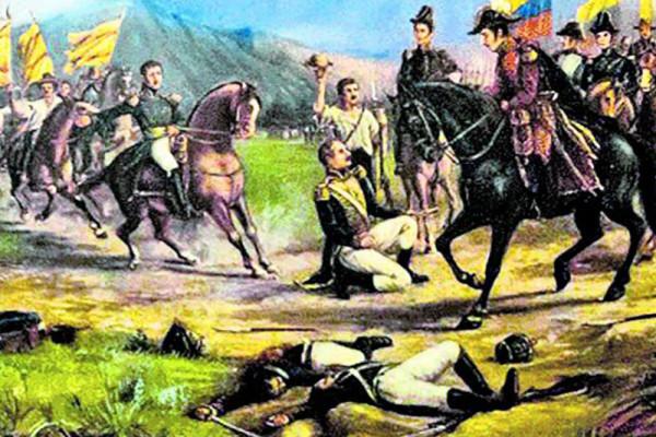 Celebraciones en Colombia por La Batalla de Boyacá.