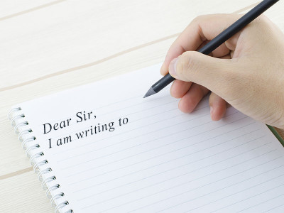 How to write a formal letter in English