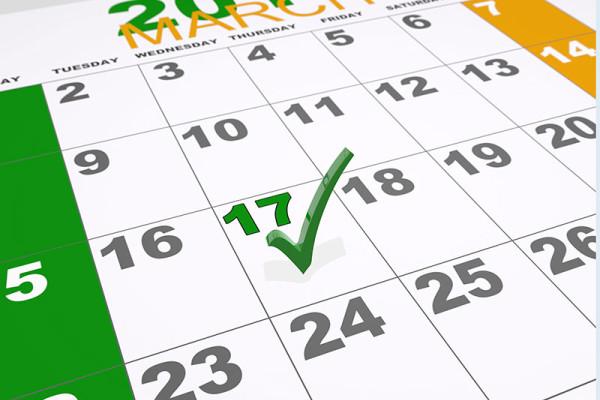El 17 de marzo vístete de verde