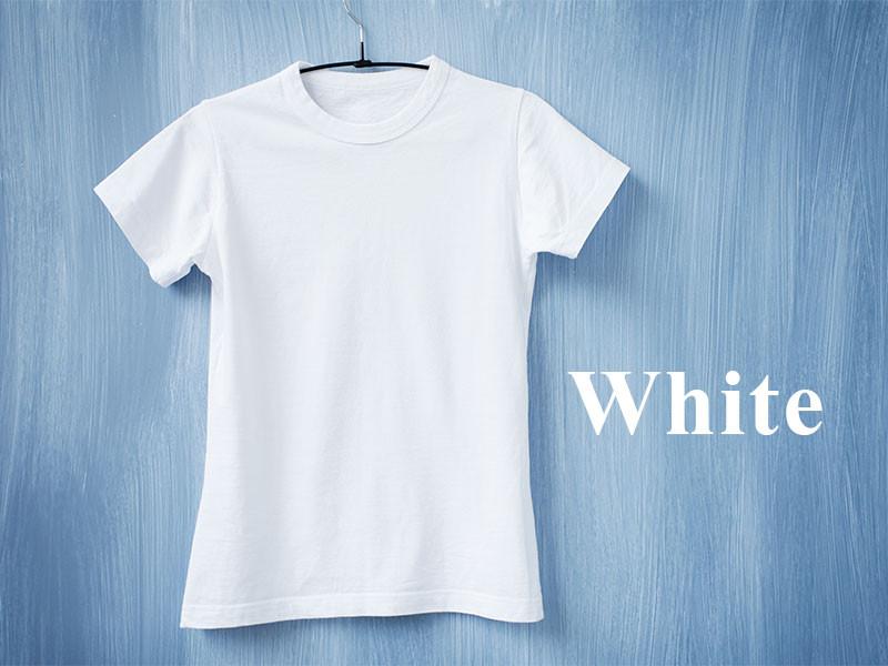Expresiones con los colores: White.