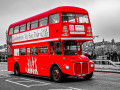 "Londres y sus autobuses ""piratas"""