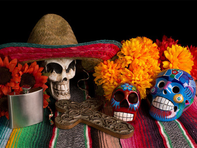 Day of the Dead. A tribute to those who have gone.